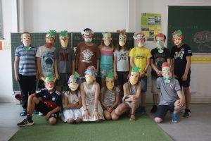 Kunstprojekt mit Kindern an einer Münchner Schule von Kokolor