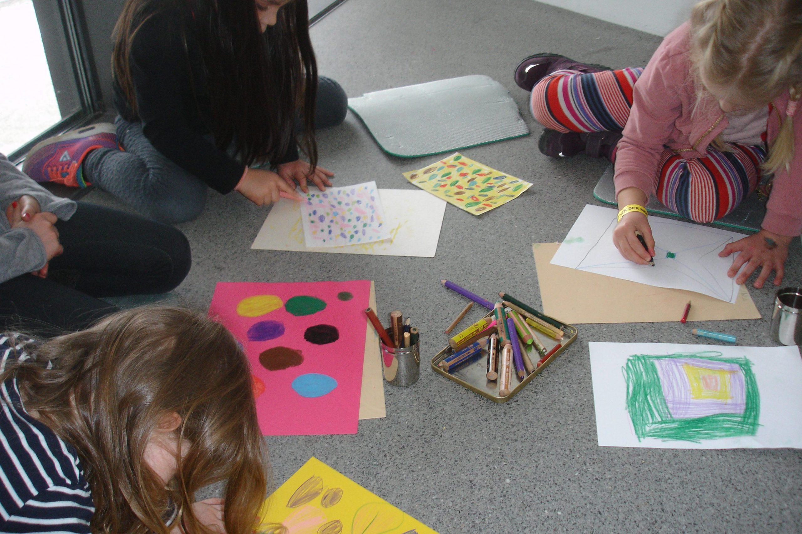 Kunst für Kinder im Museum